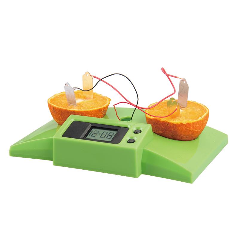 探索小子化学科学实验科技小制作科普益智diy科教玩具 水果发电